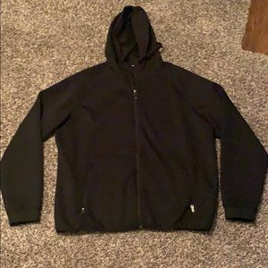 Other - Men's black full zip jacket